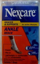 Nexcare Ankle Brace NEW in Package, FAST Shipping! White Medium