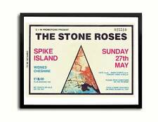 Stone Roses Spike Island Ticket Poster