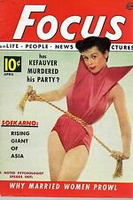 Pocket Magazine--Focus April 52 cover Soekarno-----117
