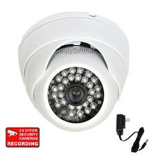 Outdoor Dome Security Camera w/ Sony Effio CCD High Resolution Infrared CCTV WT0