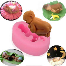 Baby Shape Mold Sugar Chocolate Mold Cake Decoration Tool Silicone Kitchen Diy