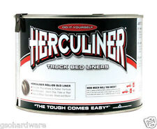 Herculiner Polyuerthane Protective Coating For Pick-Up Truck Beds 1 Qt. BLACK