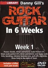 LICK LIBRARY Danny Gill's ROCK GUITAR in 6 WEEKS Learn to Play Slash Riffs DVD 1