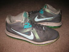 "NIKE Mens SIZE 9 LeBron 9 Low ""Easter"" Basketball Shoes 510811-001 BEAT UP"