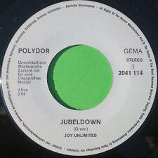 "Joy Unlimited - Jubeldown / Helpless Child - 7""er KRAUT Promo"