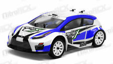MicroX Racing 1/24 Scale Micro RC Rally Car Electric RTR Ready to Run 2.4G BLUE
