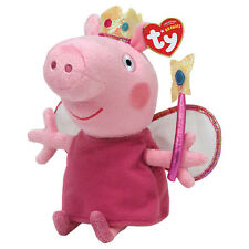 "Princess Beanie Plush Soft Toy, Peppa Pig 7"" (18cm)"