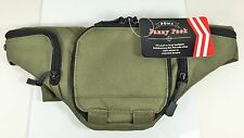 Tactical Pistol Concealment Fanny Pack - CCW Concealed Carry Gun Pouch - Green
