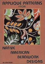 Applique Patterns from Native American Beadwork Designs