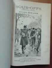 Sous-off. Grand roman militaire - L. Descaves, illustré, fin XIXe
