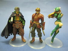 Valkyrie Profile Figure Set of 3- Lezard Valeth Freya  Frey Lucian Lucio