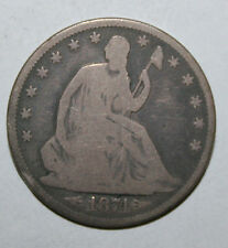 1874 SEATED LIBERTY SILVER HALF DOLLAR  G35