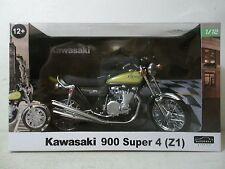 2015 AUTOMAXX 1/12 SCALE 1973 KAWASAKI Z1 900 SUPER 4 GREEN