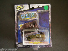 Johnny Lightning 1:100 Military Muscle WWII Half Track
