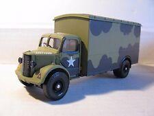 CORGI CLASSICS 1:50 BEDFORD o BOX VAN-magazzini dell'esercito britannico 1944