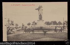 2112.-LA CORUÑA -2 Estatua de Linares Rivas.