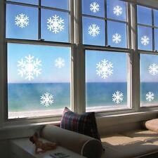Extraíble Navidad Adhesivo Pared Frozen Copos De Nieve Arte Frase Decoración