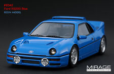1:43 HPI RESIN #8342 Ford RS200 Blue