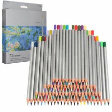 Pro 72 Color Fine Art Drawing Non-toxic Oil Base Pencils Set For Artist Sketch