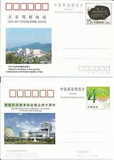 China  1994 Daya Bay Nuclear Power 1998 Science Technology  Prepaid Postcard x 2