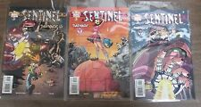 Sentinel Comic Salvage Parts 2-4 Marvel Comics Direct Ed Bagged Boareded COMIC2