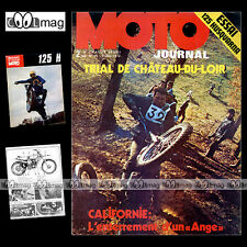 MOTO JOURNAL N°95 HVA HUSQVARNA 125 CROSS ANNE-MARIE LAGAUCHE TRIAL CROSS 1972