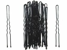 36 x 6.5cm Long Black Waved Hair Pins Bobby Pins Grips Hair Accessories UK