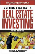 Getting Started in Real Estate Investing (Getting Started In.....)