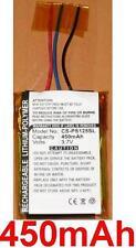Batterie 450mAh Pour PHILIPS GoGear SA3115 SA3125 SA3125/37 SA3137