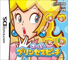 Used Nintendo DS Super Princess Peach Japan Import (Free Shipping)