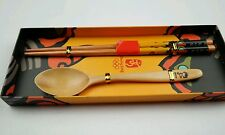 Beijing Olympics 2008 FUWA Childrens chopstick set NEW