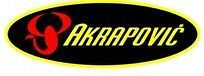 AKRAPOVIC EXHAUST SILENCER LOGO BADGE STICKER HIGH TEMP RESISTANT RACING BIKE