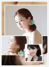Classic Gold Plated Korea Big Dipper Crystal Lady Party EarringSpecial