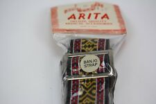 60's Vintage ARITA ACE STYLE Banjo strap BRAND NEW IN PACKAGE unopened