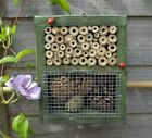 NEW Square wooden Insect House Bug Hotel Shelter Bee Ladybird Hibernation Nest