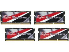 G.SKILL Ripjaws 32GB (4 x 8G) 204-Pin DDR3 SO-DIMM DDR3L 1600 Laptop Memory