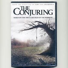 The Conjuring 2013 R horror ghost hunter thriller movie, new DVD Ron Livingston