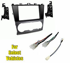 Double Din Car Stereo Radio Install Dash Kit Combo for some 2015 Subaru Impreza