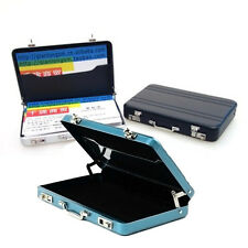 Aluminum Metal Briefcase Business ID Credit Card Holder Case Box Wallet