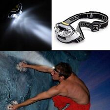 Lumens 6 LED Lights Headlight Headlamp flashlight head light lamp Fishing