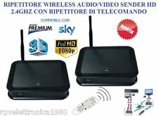 RIPETITORE AUDIO/VIDEO SENDER 2.4GHZ HD PER DECODER SKY MYSKYHD MEDIASET PREMIUM