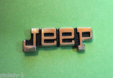 JEEP script  - hat pin , lapel  pin , tie tac , hatpin GIFT BOXED