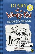 Rodrick Rules: Diary of a Wimpy Kid, Jeff Kinney, Very Good Condition Book