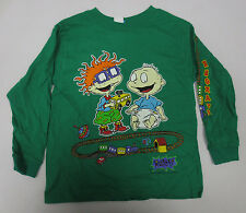 RUGRATS YOUTH SHIRT SIZE 5/6 PRINTED KIDS VINTAGE NICKELODEON CHUCKIE TOMMY VTG