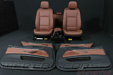 BMW 5er F11 Touring leather seats interior for RHD cars brown Lederausstattung