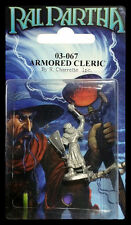 RAL PARTHA 03-067 ARMORED CLERIC NISB ( d & d, reaper, dungeons & dragons )