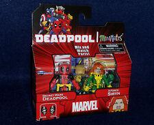Marvel MiniMates Series 65 SECRET WARS DEADPOOL & X-FORCE SIRYN Figure 2 PK