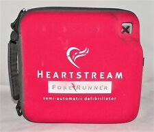 PHILIPS HP FORERUNNER AED DEFIB + GOOD BATTERY + NEW 12/2017 PADS + CASE