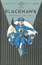 THE BLACKHAWK - 1941-43 QUALITY COMICS - ANTI-NAZI WORLD WAR II - DC ARCHIVES HC