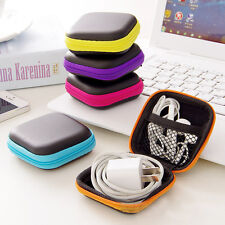 Earphone Headphone Earbuds SD/TF Bag Cards Fancy Storage Pouch Hard Cases Box